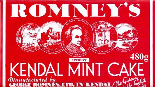 Kendal Mint Cake 480g braun