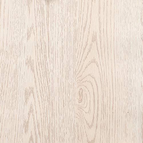 Papel de contacto autoadhesivo de vinilo de madera ligera de 40 x 117 pulgadas, para armarios de cocina, cajones, mesas, mesas, mesas, muebles, manualidades, desmontable, impermeable