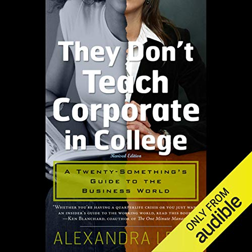 They Don't Teach Corporate in College Titelbild