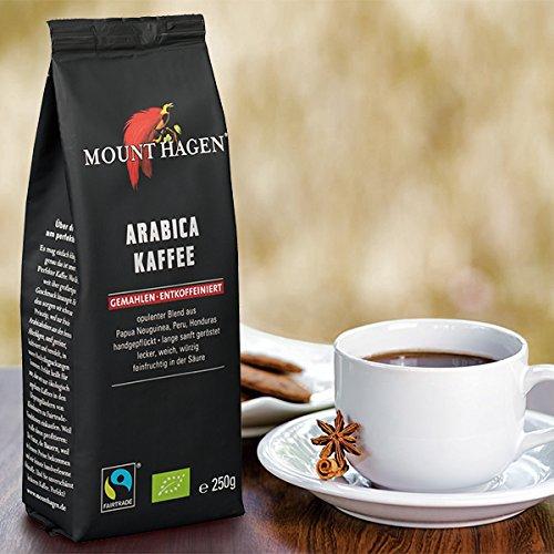 MIE_PROJECT マウントハーゲン オーガニック フェアトレード カフェインレス ロースト&グラウンド コーヒー 1袋 250g