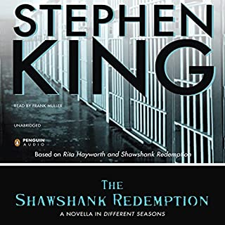 The Shawshank Redemption audiobook cover art