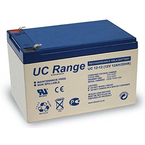 Ultracell - Petite batterie UC 12V 12Ah