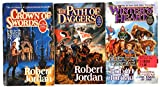 The Wheel of Time Set III, Books 7-9: A Crown of Swords, the Path of Daggers, Winter's Heart [BOXED-WHEEL OF TIME SET II -OS]
