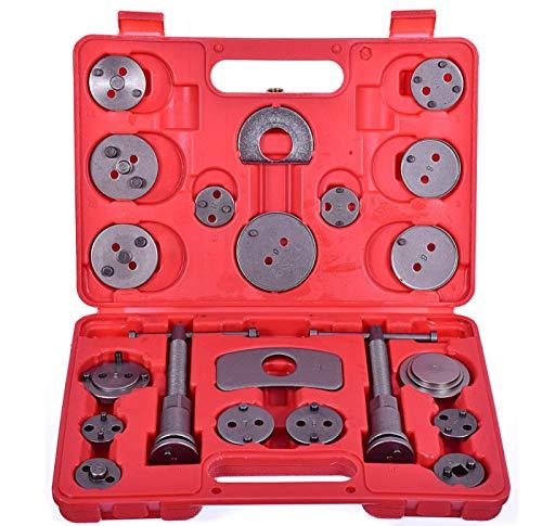 Lot de 21 outils universels pour étrier de frein et piston de remontage pour voiture