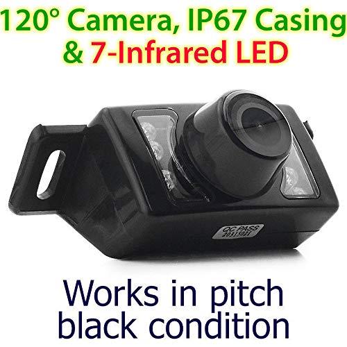 Infrarouge IR CCD étanche Vision de Nuit Vue arrière de Voiture Caméra de recul de stationnement