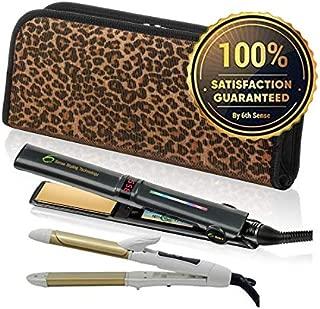 Professional Flat Iron Hair Straightener Ceramic Tourmaline 1