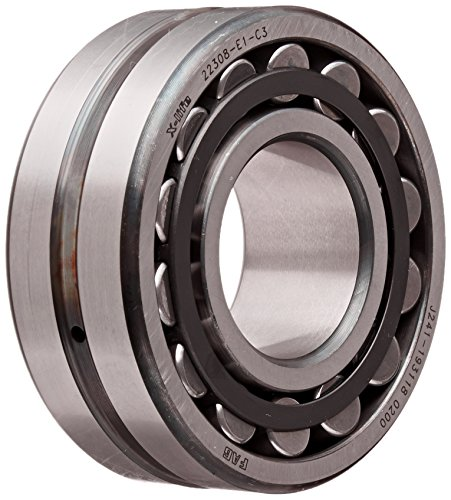Standard Tolerance Straight Bore 14000rpm Maximum Rotational Speed Metric 20mm Width C3 Clearance 13489lbf Static Load Capacity 30mm Bore SKF 22206 E//C3 Explorer Spherical Roller Bearing 62mm OD 14388lbf Dynamic Load Capacity Steel Cage