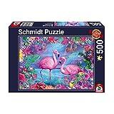 Schmidt- Puzzle (500 Piezas), diseño de flamencos (58342)