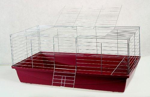 Nagerkäfig,Hasenkäfig,Meerschweinkäfig,Käfig,Rabbit,Zwergkaninchen ca. 100 x 54 x 43 cm