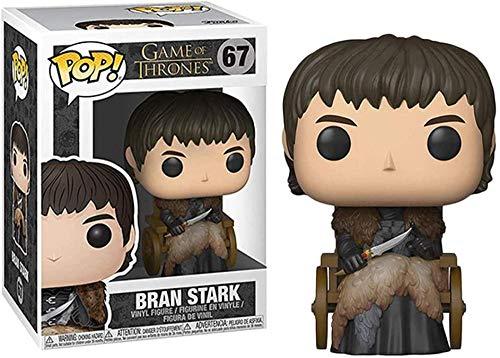 A-Generic Pop! Películas: Juego de Tronos - Jon Snow Ghost Tyrion Lannister BRAN Stark Lord Varys Yara Grey Joy Children of The Forest Gendry Figura de Vinilo Multicolor-BRAN Stark