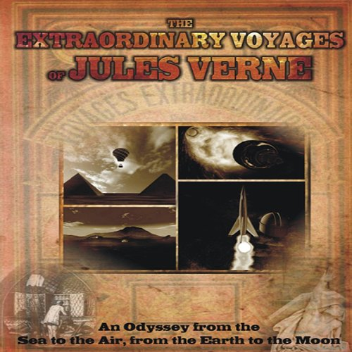 The Extraordinary Voyages of Jules Verne audiobook cover art