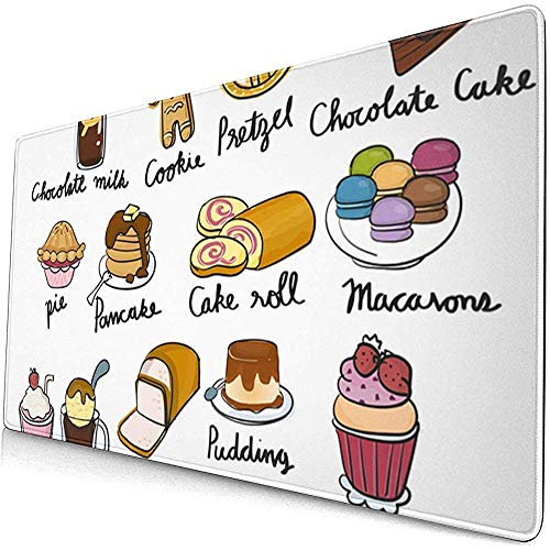 muismat muismat anti-slip rubber duurzame taart ijs dessert