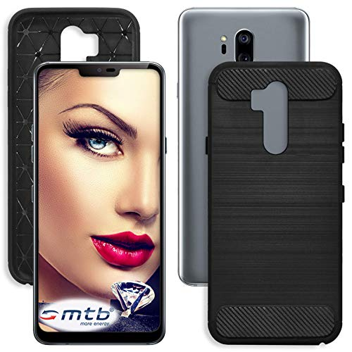 mtb more energy® Funda TPU Carbono para LG G7 ThinQ - G7+...