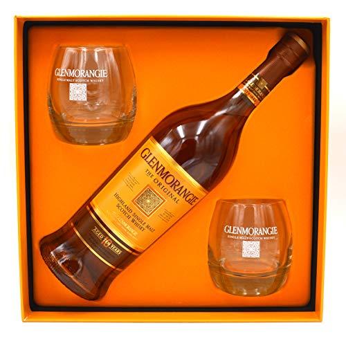 Glenmorangie Whisky Original 10 Jahre 0,7l inkl. 2 Gläser und Geschenkpackung - limitiert