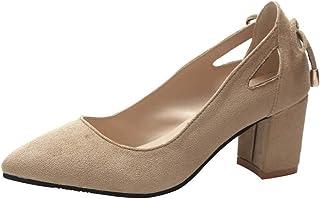Alaso Escarpins Mode Femmes Sandale Bout Pointu Cheville Hauts Talons Parti Travaille Soirée Chaussures Simples Chaussures...