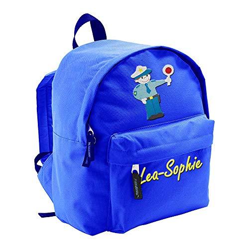 SL-Store GbR Kindergartenrucksack Bestickt mit Namen Motiv Kinder Kleinkind Kinderrucksack...