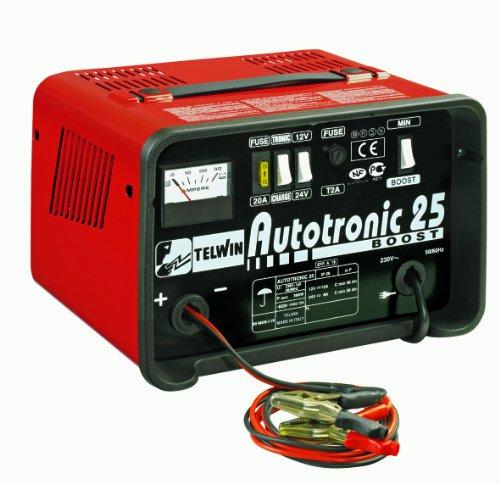 Telwin Autotronic 25 Boost - Cargador de baterías