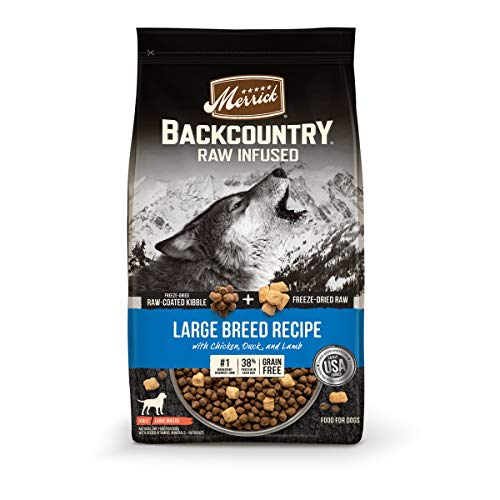 Merrick Backcountry Raw Infused Grain Free Dry Dog Food Large Breed Recipe - 20.0 lb Bag