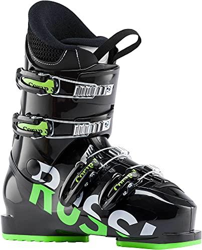 Rossignol Comp J4 スキーブーツ キッズ 8.5 (26.5) ブラック