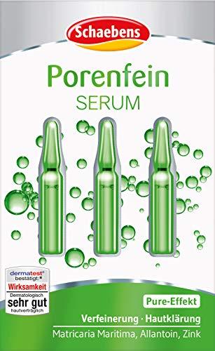 Schaebens Porenfein Serum, 3er Pack (3x 3 Anwendungen Je 1ml)