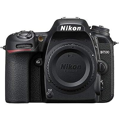 Nikon D7500 20.9MP DX-Format Wi-Fi 4K Digital SLR Camera Body - (Renewed) by Beach Camera