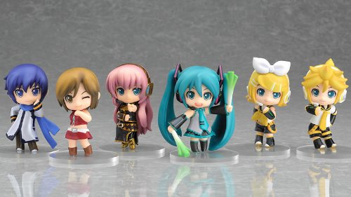 S?rie Nendoroid Petit Vocaloid 01 BOX Cercle k Merci d?cor d'affichage limit?e (japon d'importation)