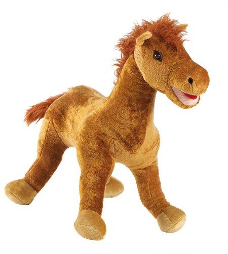 Playtastic Riesenplüschtiere: Aufblasbares Plüschtier Molly, das süße Pony, 85cm (Plüsch-Tiere aufblasbar)