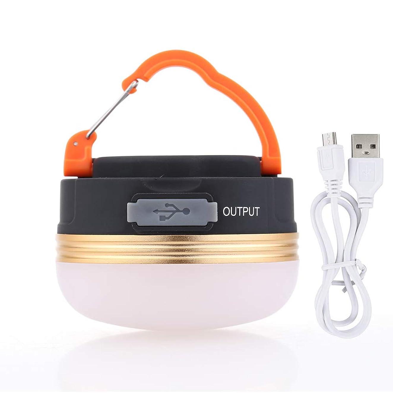 鷹不条理シリングLEDランタン ランタンライト オレンジ USB充電 暖色光 マグネット式 1800mAh フック モード切替 重量130g [並行輸入品]
