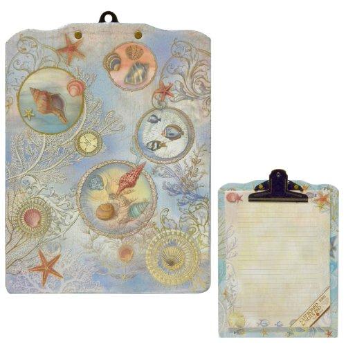 Seascape Nautical Sealife Clipboard & Notepad Gift Set