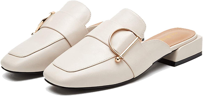GDLXL Damen Sommer Sandalen Exull-q Bohemia Strand Schuhe Freizeit Flach Sandalette YXC-39,Beige-EU39