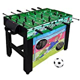 Hathaway Playmaker 3-in-1 Foosball Multi-Game Table with Soccer and...