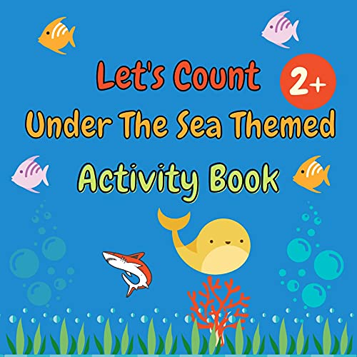 Let's Count Sea Animals: Toddler Counting Book (English Edition)