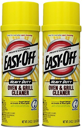 Easy Off Professional Oven amp Grill Cleaner Aerosol 24 oz Pack of 2