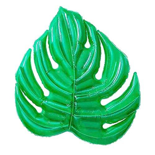 KKAAMYND Luftmatratzen, 3D-Blätter Bett Pneumatische Schwimm Blatt Schwimmen Ring Float Reihe Wasserbett Schwimmender Spielzeug for Erwachsene Kinder-Sommer-Supplies (Color : 1)