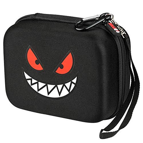 Brappo Carrying Case for Pokemon Cards with Hand Strap, Card Holder Fits up to 500 Cards image
