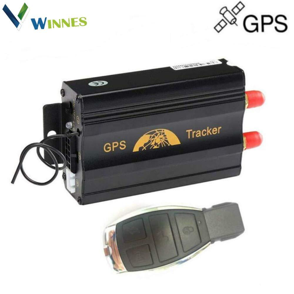 TKSTAR TK103B - Rastreador GPS antirrobo con Mando a Distancia para Coche, GPS gsm GPRS SMS, Sistema de Alarma antirrobo de Seguridad para Coche: Amazon.es: Electrónica
