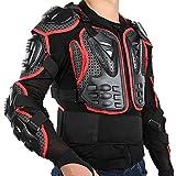 SJZJ Veste De Moto Enfants Armure De Corps Pour Enfants Équitation Protection De Moto Protecteur De Poitrine Protecteur Arrière Dirt Bike Racing Guard Motocross Moto Gears (A,XL)