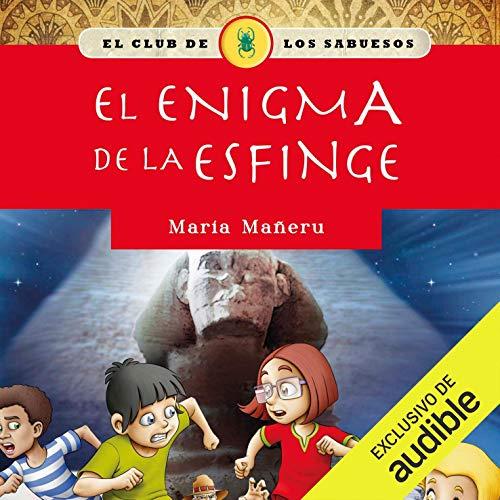 Diseño de la portada del título El enigma de la Esfinge