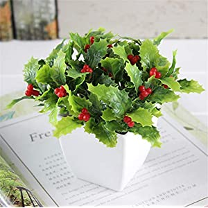 JruF [Small Square Pot + Flower] Living Room Shelf Decoration Flower Set Garden Small Potted Home Accessories, Modern Artificial Potted Plants Home Decoration Flowers and Plants Arranged Desktop