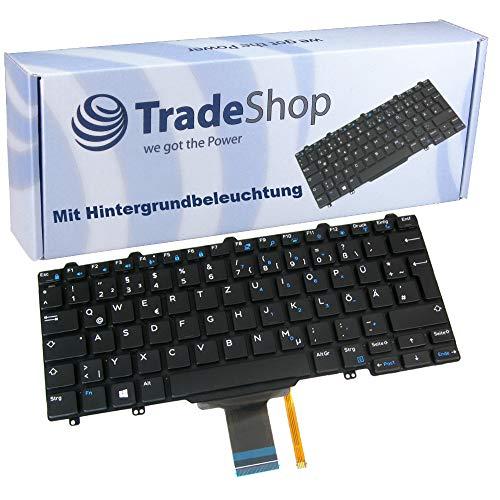 Original Laptop Tastatur mit Hintergr&beleuchtung QWERTZ Deutsch für Dell Latitude 3150 3160 3340 3350 E3150 E3160 E5250 E5270 E7250 E7270 ersetzt 0N5C9F 0P0T93 0P9J66 (Deutsches Tastaturlayout)