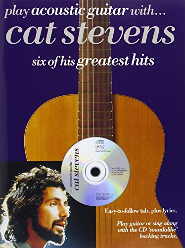 Partition : Stevens Cat Play Acoustic Guitar With + Cd