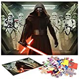 Star Wars Episodio VII El Despertar de la Fuerza Puzzle 1000 Piezas Rompecabezas De 1000 Piezas Colorido Juego De Rompecabezas para Adultos