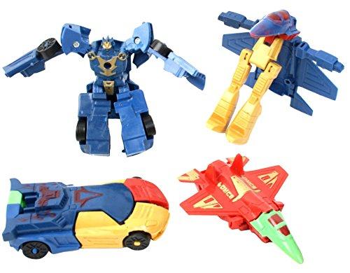 Generique - Mini-Roboter Piñata-Zubehör bunt