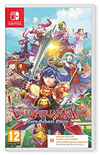 Valthirian Arc Hero School Story Nintendo Switch Game [Code in a Box]