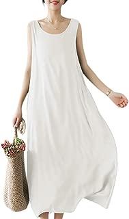 Best sleeveless linen shirt dress Reviews