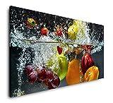 Paul Sinus Art Obst und Gemüse in Wasser 120x 60cm