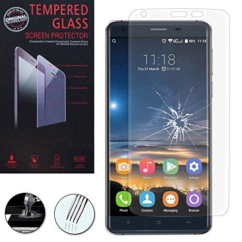 VComp-Shop Protector de pantalla de cristal templado de alta calidad para Oukitel K6000 Pro 4G 5,5 pulgadas, transparente
