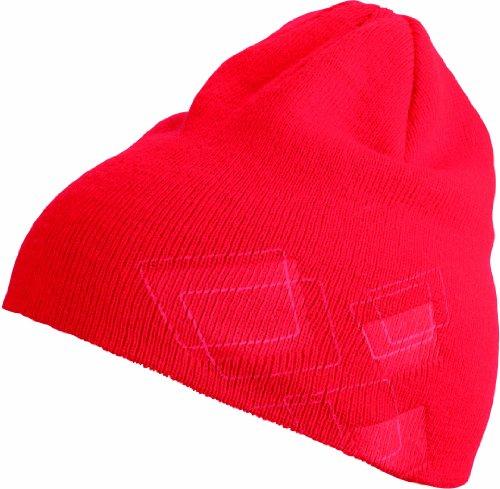 Myrtle Beach Bonnet en Tricot Embossed Taille Unique Rouge - Rouge
