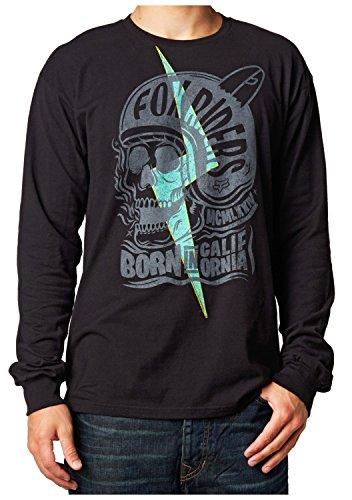 Fox Racing Grip Long Sleeve T-Shirt Small Black