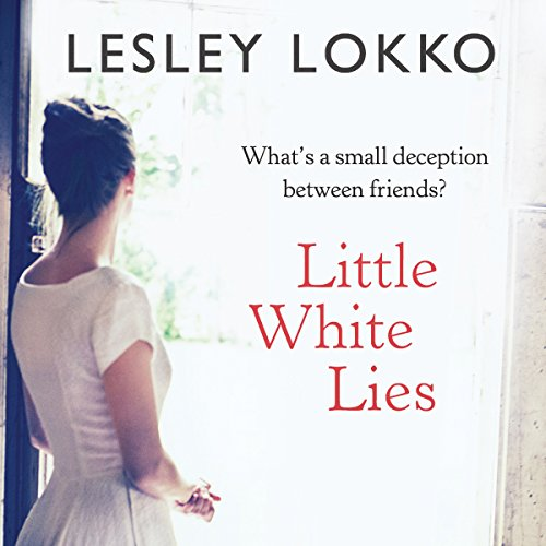 Little White Lies audiobook cover art